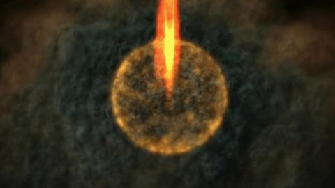 Digital Animation of a magic Scene Animation