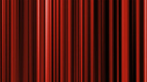 Animated Red Satin Curtain Footage