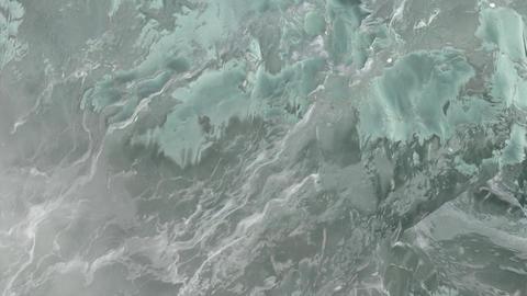 Block of Ice Close Up Footage