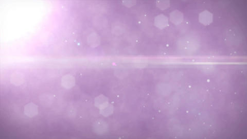 Beautiful Tranquil Pink Purple Background with Rays of Light Dust Particles and  Live Action