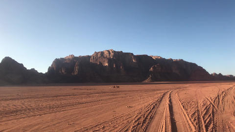 Wadi Rum, Jordan - whimsical cliffs created by time in the desert part 19 Live Action