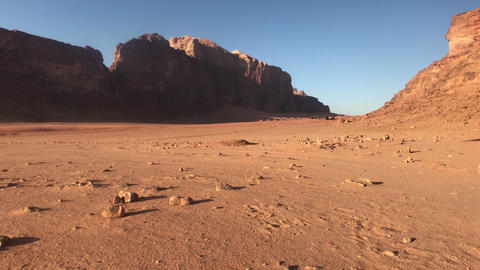 Wadi Rum, Jordan - whimsical cliffs created by time in the desert part 15 Live Action