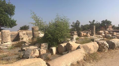 Umm Qais, Jordan - remnants of ancient times buildings part 20 Live Action
