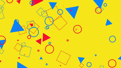 Kid's Geometric Animation Animation