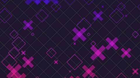 Geometric Gradient Background Animation