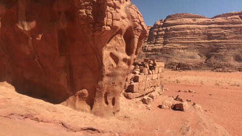 Wadi Rum, Jordan - whimsical cliffs created by time in the desert part 20 Live Action