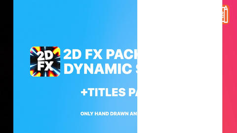 Dynamic Shapes And Titles After Effects Template