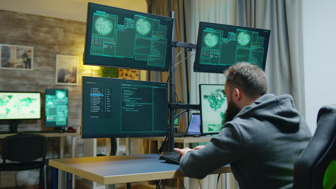 Access denied for cyber criminal trying to hack the government Live Action