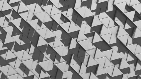 Landscape of Trihedral Pillars White 03-2 Animation