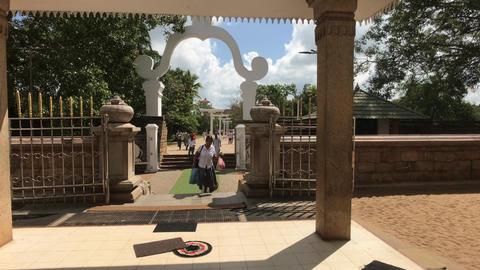 Anuradhapura, Sri Lanka, event in temple 11 part Live Action