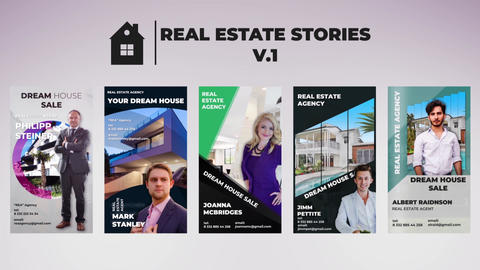 Real Estate Stories v 1 After Effects Template