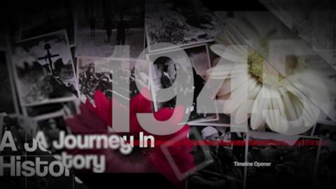 History Timeline Opener Premiere Pro Template