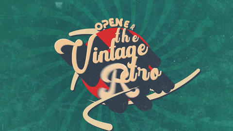 Retro Vintage Opener After Effects Template