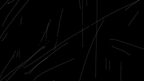 Old Rough Film Scratches Stock Video Footage