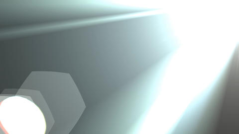 Lens Flare Hexagon and Dust Particles Footage