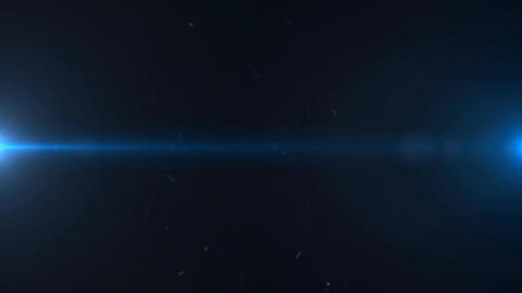 Lights Flares and Dust Particles Background Footage