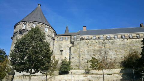 Entrance of Castle Bentheim in Bad Bentheim Live Action
