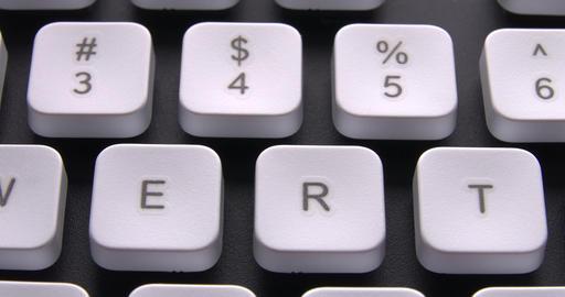 1080p English PC Keyboard Keys Macro Live Action