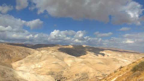 Amazing Judah Desert on a Time Lapse Footage