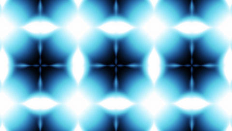 Beautiful and Unique Psychedelic Kaleidoscope of Flashing Blue Lights in Weird S Footage