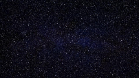 1080p Loopable: Dense Star Field / Deep Space / Stars Background Live Action