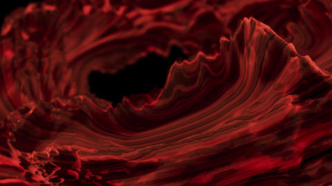 Abstract moving living fabric. Looped background Live Action