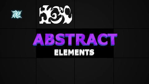 Cartoon Abstract Shapes - 2