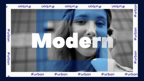 Urban Opener Plantilla de Apple Motion