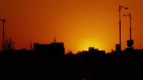 4K City Sunset / Sunset Timelapse Footage