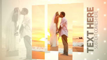 Clean Wedding Slideshow After Effects Template