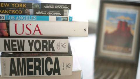 America travel books for USA on the road trip planning Live Action