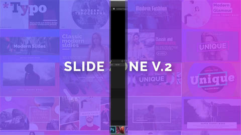 Slide Zone V 2 Apple Motion Template