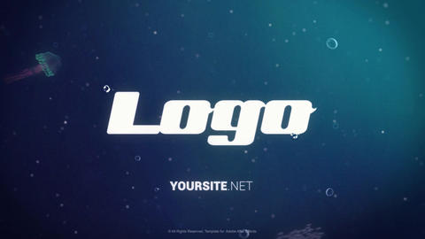 Underwater Logo After Effects Template