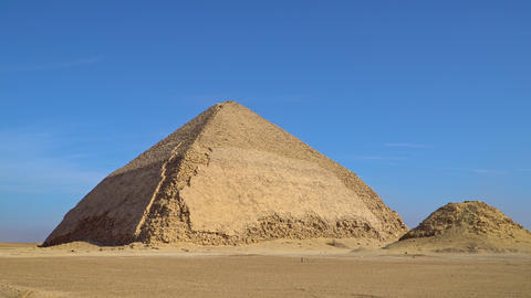 The Bent Pyramid is an ancient Egyptian pyramid located at the royal necropolis Live Action