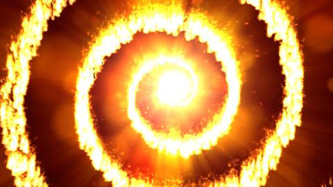 Rotating flame Animation