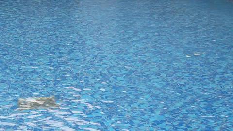 Swimming pool waves Footage