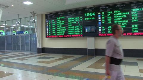 Departures board Live Action