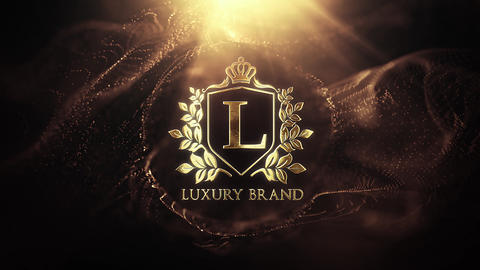 Luxury Golden Logo After Effects Template