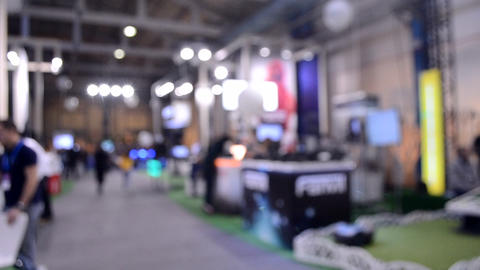 Mall buyer customer purchaser shopper. Abstract Defocused Live Action