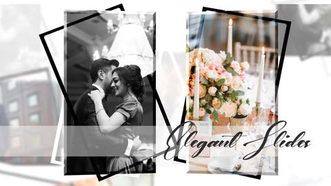 Wedding Love Story Slideshow After Effects Template