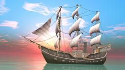 UHD-Sailboat Animation
