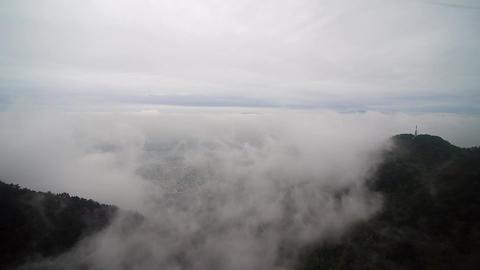 Apsan-3(Fog in Daegu) Footage