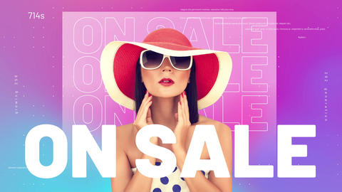 On Sale Opener After Effects Template