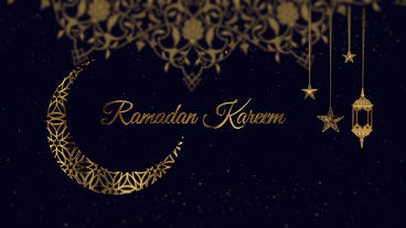 Ramadan Kareem Greetings After Effectsテンプレート