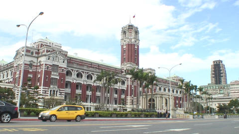 taiwan Presidential Office Building Live Action