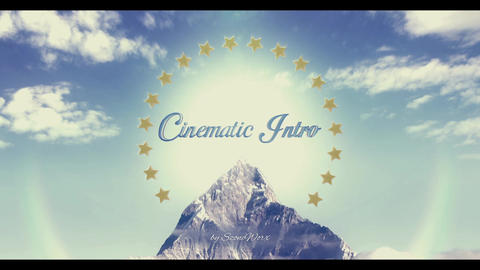 Cinematic Mountain Title Intro After Effects Template