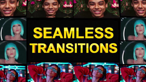 Seamless Transitions AE 模板