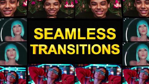 Seamless Transitions Plantilla de Apple Motion