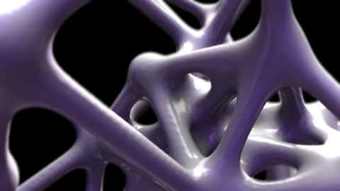 Abstract Neuron Loop Animation