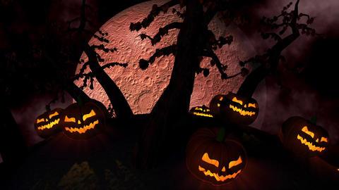 Halloween Background Loop Animation